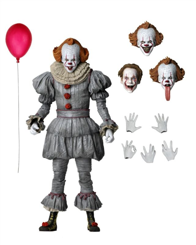 """IT: Chapter Two - 7"""" Scale Action Figure - Ultimate Pennywise - NECA"""
