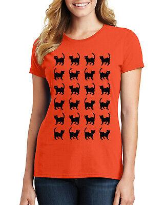 Easy Guy Costumes (Black Cat Halloween Shirt #2 Women's T-Shirt Fun Easy)
