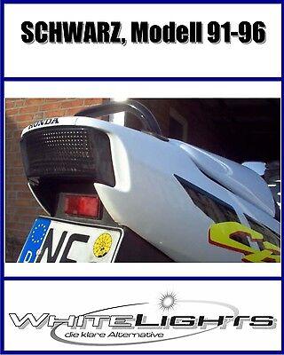 31 Schwarz Led (LED Heckleuchte Rücklicht schwarz Honda CBR 600 PC25 PC31 F2 F3 CBR600)