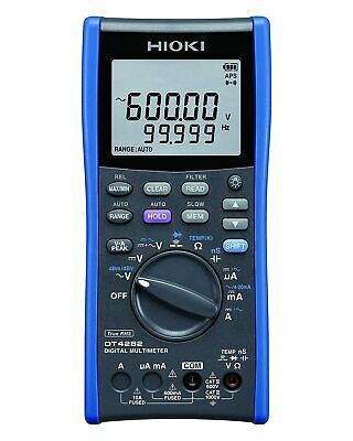 Hioki Digital Multimeter Dt4282 10a Terminal Mounted Type Tracking Number New