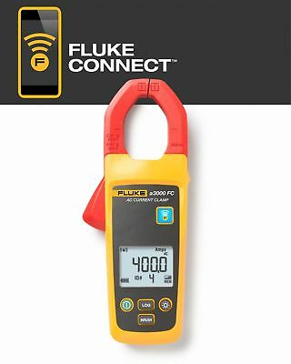 Fluke Clamp On Digital Wireless Clamp Meter Module Kit 1-1132 Jaw Capacity