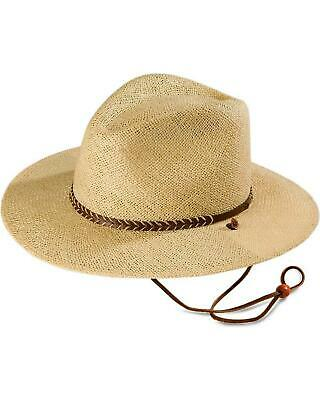 Lakeland Hat (Stetson Lakeland UV Protection Straw Hat - TSJT388130.LKLD-R)