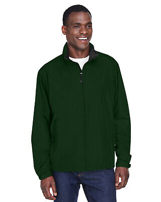 North End Men's Techno Lite Jacket 100% Polyester Mesh 88083 Roll-away Hood Mens Techno Lite Jacket