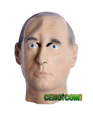 Putin Maske aus Latex. Politiker Maske. Faschingsmaske des Präsidenten! Karneval