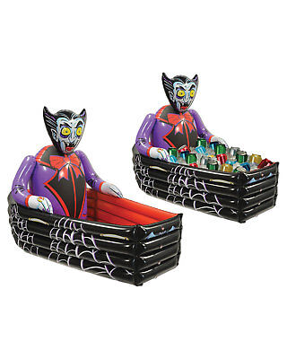 Morris Costumes Party Supplies Halloween Inflate Vampire Coffin Cooler. BG00019 - Halloween Costumes Party Supplies