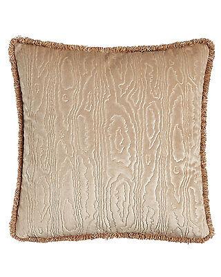 Sferra Abbey Champagne Velvet Throw Pillow Beige Decorative Marcus 18