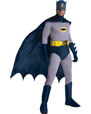 Morris Costumes Men's Superheroes Batman Comic Complete Outfit XL. RU887207XL