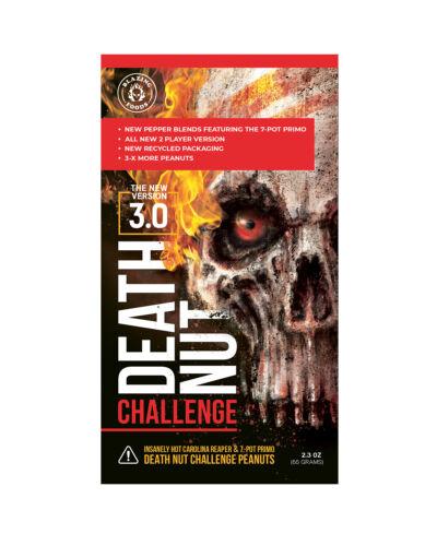 **ALL NEW The Death Nut Challenge Version 3.0 Carolina Reaper Fire Peanuts