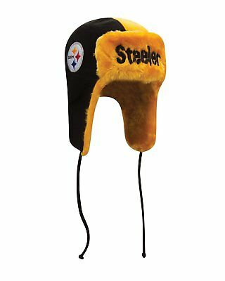 Pittsburgh Steelers New Era NFL Helmet Head Knit Trooper Hat](Steelers New Helmet)