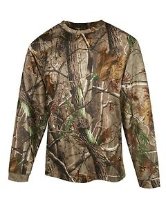 Russell-Outdoors-Mens-S-2XL-3XL-Realtree-AP-Camo-Crew-Neck-Sweatshirt-REAL-TREE