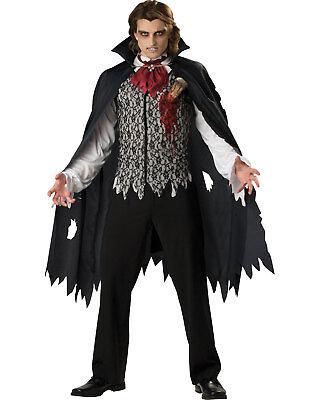Morris Costumes Men's Realistic Vinyl Stake Vampire Adult Costume XL. IC96001XL - Realistic Adult Costumes