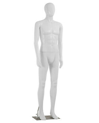 73 Inch Male Mannequin Full Body Dress Form Sewing Manikin Adjustable Dress