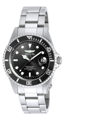 Купить Invicta 8932OB Men's Pro Diver Black Dial SS Bracelet Dive Watch