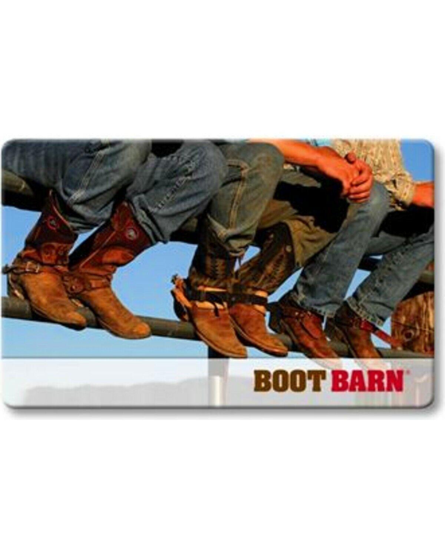 Boot Barn Gift Card 145.11 - $99.00