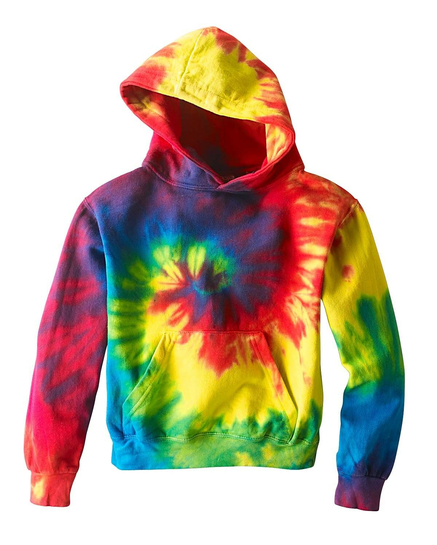 tie dye youth pullover hoodie sweatshirt girls boys. Black Bedroom Furniture Sets. Home Design Ideas
