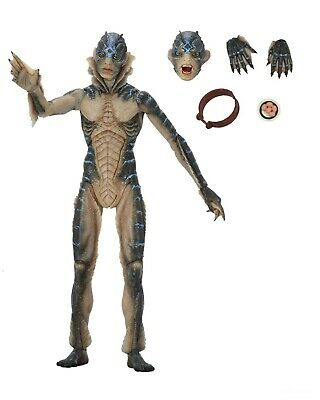"""The Shape of Water - GDT Collection 7"""" Scale Action Figure- Amphibian Man - NECA"""