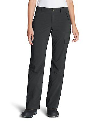 (eddie bauer polar fleece lined pants women's 8 tall GRAY flexion new MSRP: $99)