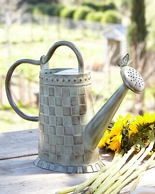 butterfly verdigris watering can new 110 m20