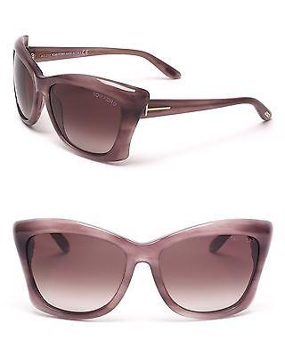 TOM FORD CAT's EYE Sunglasses PURPLE TF280 83Z Violet LANA Box, Case & Cloth