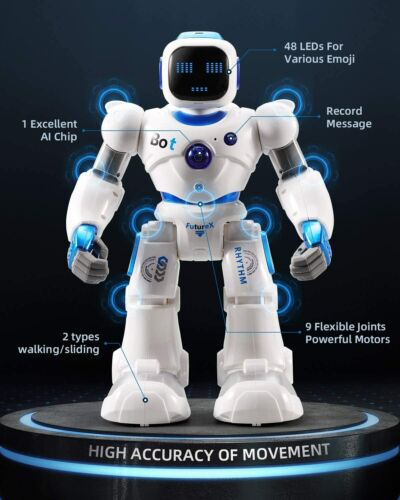 Ruko Smart Robots for Kids, Large Programmable RC Robot w/ Voice Control @NEW@