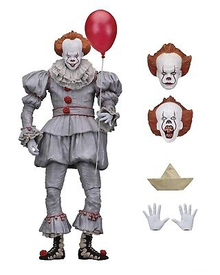 "IT - 7"" Scale Action Figure - Ultimate Pennywise (2017) - NECA"