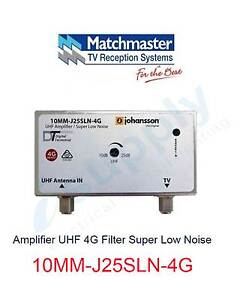 MATCHMASTER Amplifier UHF 4G Filter Super Low Noise - 10MM-J25SLN Parramatta Parramatta Area Preview