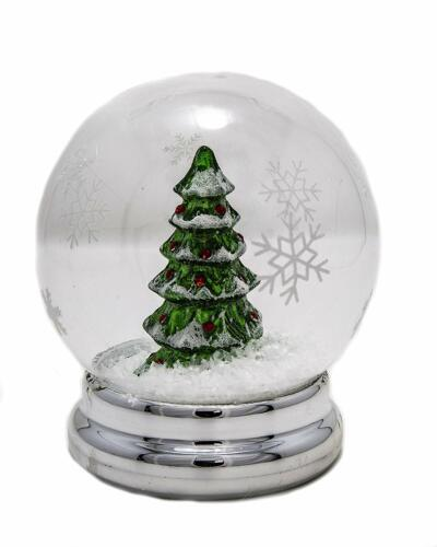 """ReLive LED Christmas Tree Snowglobe - 4.75"""""""