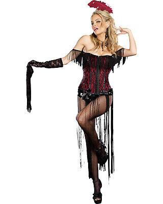 Morris Costumes Women's Burlesque Beauty Medium. RL8775MD](Burlesque Beauty Halloween Costume)