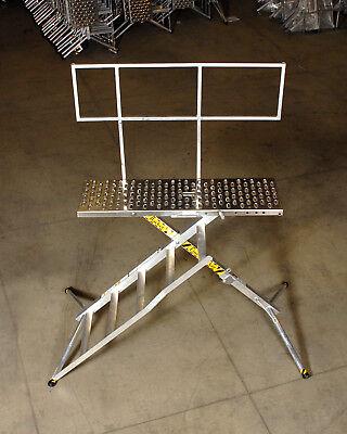 X-deck Safety Work Platform Ladder - Portable Lightweight Scaffold - 5 Step Pro