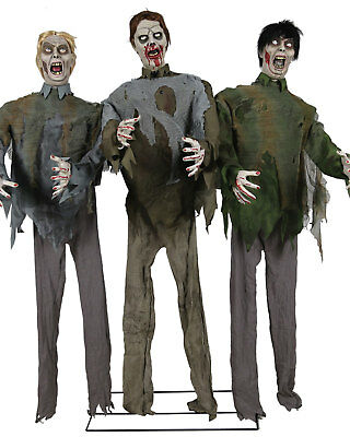Morris Costumes Easy To Assemble Light Up Eyes The Zombies Horde Props. MR124391 - Easy To Assemble Halloween Costumes