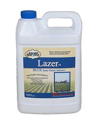 (Liquid Harvest Lazer Blue Concentrated Spray Pattern Indicator - 1 Gallon)