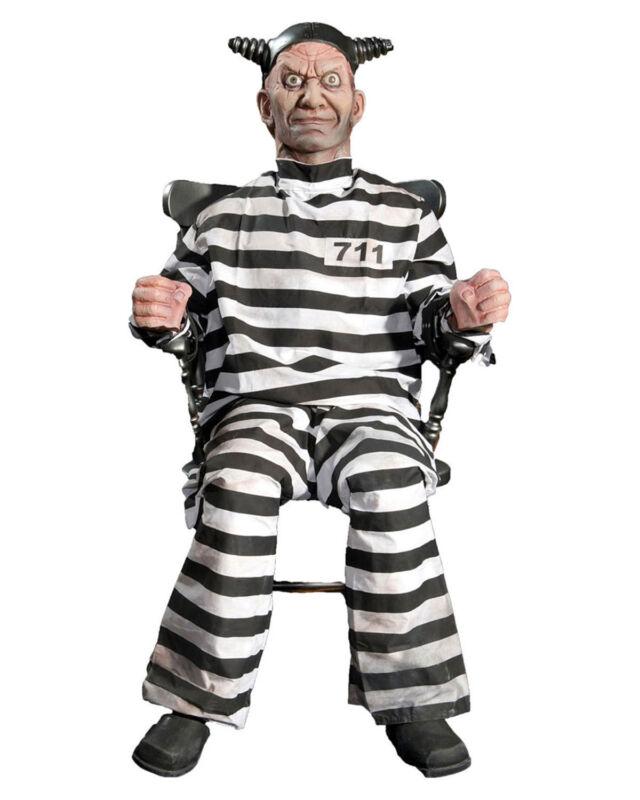 Morris Costumes Condemned Prisoner Buzz Animated Foam Filled Latex Prop. DU2008