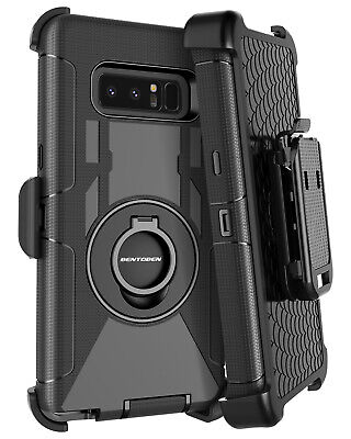 For Samsung Galaxy Note 9 Rugged Phone Case Cover w/ Belt Clip Holster