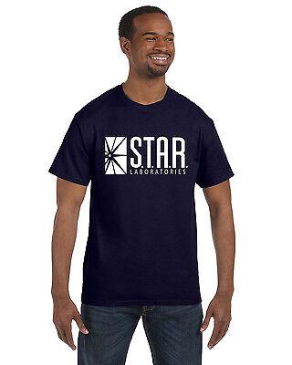 Star Labs Tee Shirt Tee The Flash STAR LABORATORIES Superman Comic - Flash Shirt