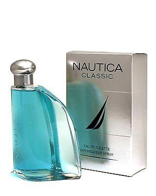 Nautica Classic Perfume Cologne 3.4 oz 100 ml EDT Spray For Men Brand New in Box
