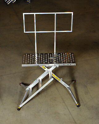 X-deck Safety Work Platform Ladder - Portable Lightweight Scaffold - 3 Step Pro