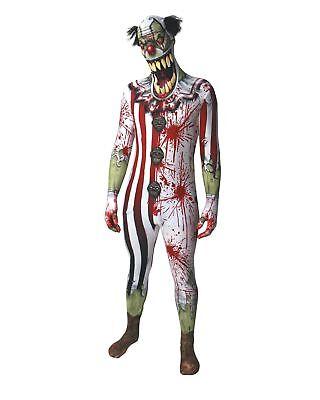 wn Ganzkörperanzug Halloween Gr. M  - original Lizenzware (Halloween Clown Morphsuits)
