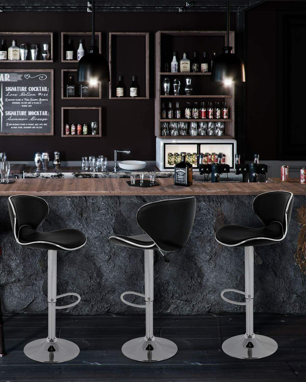 Counter Height Bar Stools Set of 2 Barstools Swivel Stool Benches, Stools & Bar Stools