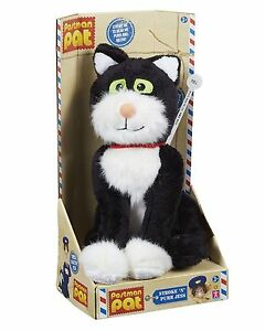 Postman Pat Stroke 'n' Purr Jess the Cat - Stroke to hear purr and meow! NEW