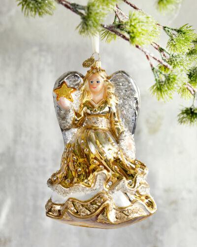 John Huras Golden Angel Christmas Ornament Brand New in Box