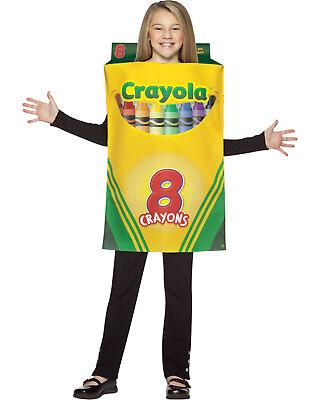 Morris Costume Girls Crayola Crayon Box Christmas Santa New Year Costume. GC4521 - Crayola Crayon Box Halloween Costume