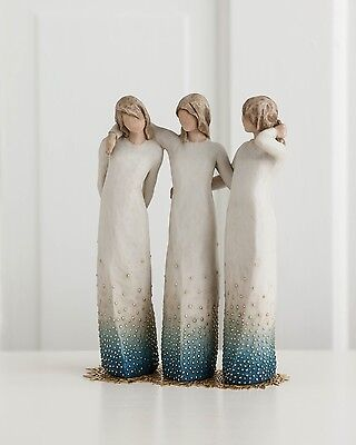 Signature Collection Willow Tree By My Side Comfort Figurine Keepsake Ornament