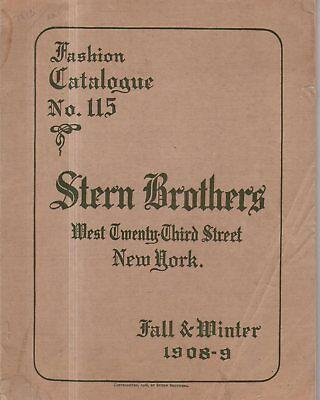 1908 Stern Brothers Original Catalog - Men's, women's, children's fashions,watch