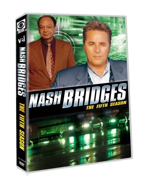 NASH BRIDGES: COMPLETE SEASON 5 (Don Johnson) - DVD - Region 1