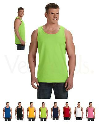 Fruit of the Loom Men's Double Needle Bottom Binding Neck Armhole Tank Top. 39TK Clothing, Shoes & Accessories