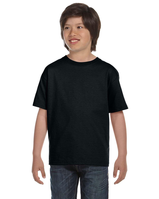 Gildan Youth T shirt DRY BLEND Short Sleeve Plain Basic T-sh