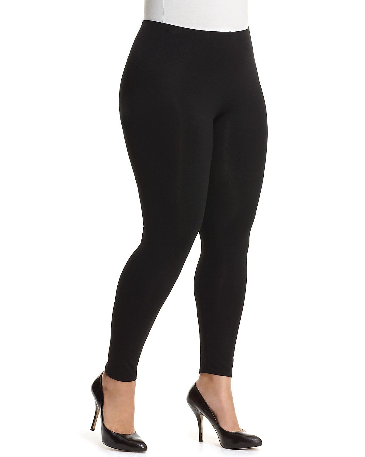 WOMEN LADIES PLUS SIZE SEAMLESS STRETCH YOGA PANTS ANKLE LENGTH LEGGINGS Clothing, Shoes & Accessories