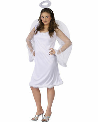 Morris Costumes Women's Holiday Angels Heaven Dress One Size Plus. FW110555 - Angels Costumes