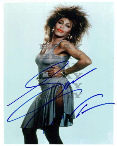 Tina Turner Autographed Signed 8x10 Photo Reprint