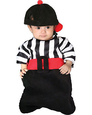 Morris Costumes Childrens Infants & Newborns Uniforms referee Dress 0-6. CS10953